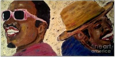 Painting - Outkast by J Von Ryan