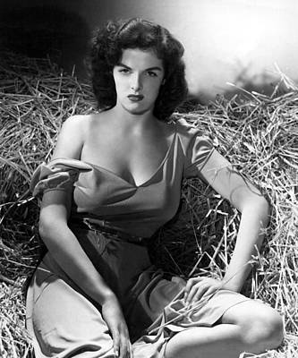 Outlaw, Jane Russell, 1943, Cleavage Print by Everett