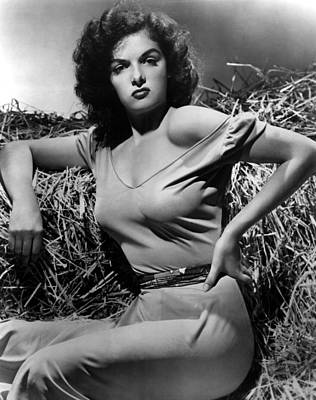 Outlaw, The, Jane Russell, 1943 Print by Everett