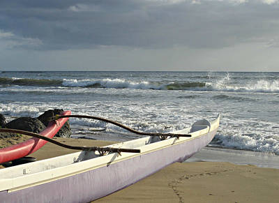 Photograph - Outrigger Canoe by Marilyn Wilson