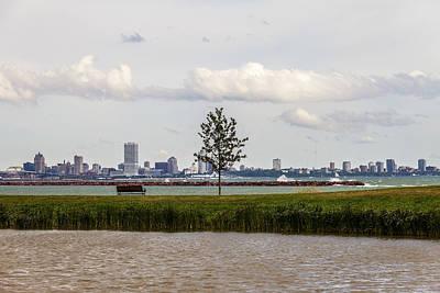 Milwaukee Skyline Photograph - Outside Of The Inside by CJ Schmit
