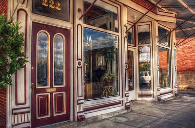 Photograph - Outside The Antique Shop by Tyra  OBryant