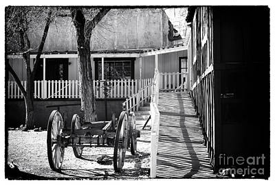 Photograph - Outside The Saloon by John Rizzuto