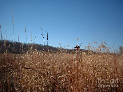 Art Print featuring the photograph Outstanding In His Field by Mark McReynolds