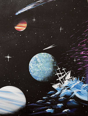 Stellar Mixed Media - Outter Limits by Stephen Ford
