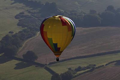 Western Art - Over Balloon by Maj Seda