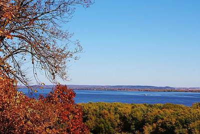Photograph - Over Looking The Mississippi River by Bruce Bley
