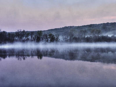 Er Photograph - Over The Misty Pond by William Fields