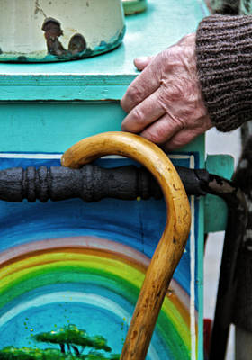 Street Musicians Photograph - Over The Rainbow by Odd Jeppesen