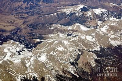 Over The Rockies Art Print by Kathleen Struckle
