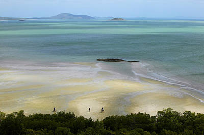 Overhead Of Cape York, Mainland Australia's Northernmost Point Print by Johnny Haglund