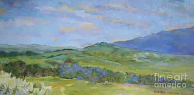 Mt. Monadnock Painting - Overlooking Pumpelly Ridge by Alicia Drakiotes