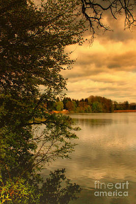 Photograph - Overlooking The Lake by Jutta Maria Pusl