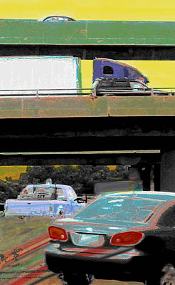 Photograph - Overpass by Ian  MacDonald
