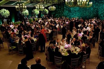 Overview Of The State Dinner Art Print by Everett