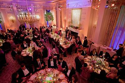 Overview Of The State Dinner Honoring Art Print by Everett