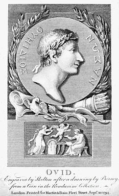 1st Century B.c Photograph - Ovid (43 B.c.-?17 A.d.) by Granger