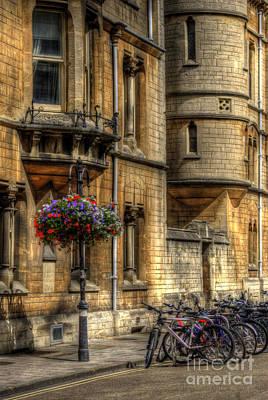 Photograph - Oxford Bicycles by Yhun Suarez