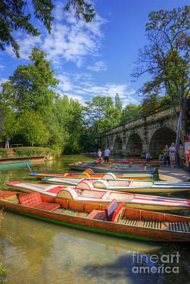 Photograph - Oxford Boats by Yhun Suarez