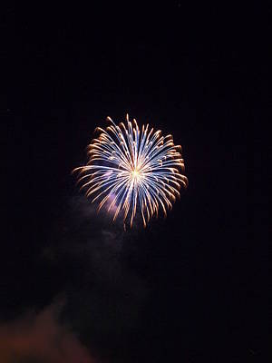 Photograph - Oxford Fireworks by Joshua House