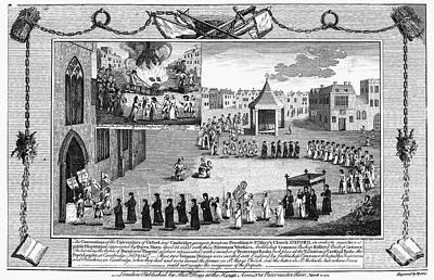 Oxford Martyrs, 1556 Art Print