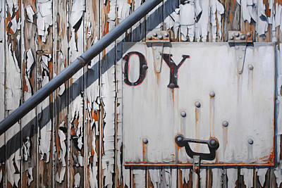 Rusted Cars Painting - ...oy by Chris Steinken