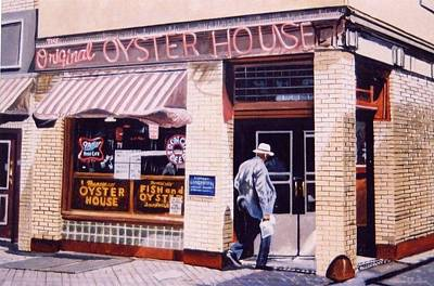 Painting - Oyster  House by James Guentner