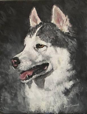Painting - Ozzie by Jack Skinner