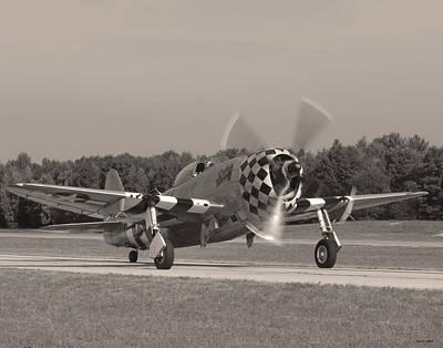 P-47 02 Art Print