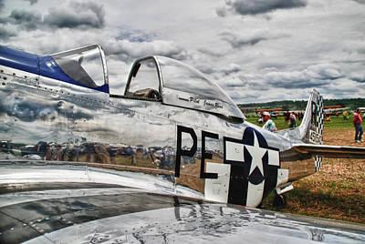P-51 Mustang 3832 Original by Guy Whiteley