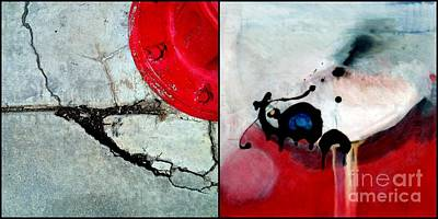 Fire Hydrant Painting - p HOTography 36 by Marlene Burns