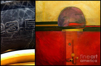Abstract Art Painting - p HOTography 47 by Marlene Burns