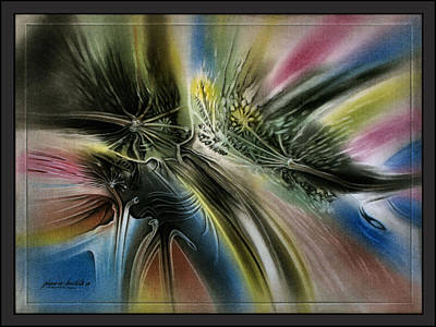 Pastel - p10 Floral Display 2009 by Glenn Bautista
