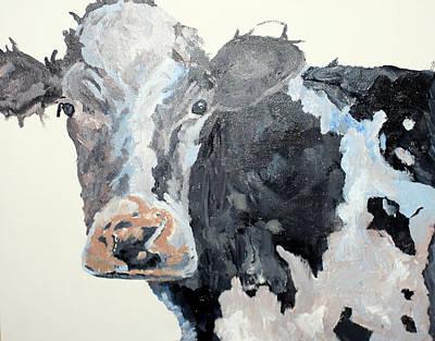 Pa Cow Study 2 Art Print by Quinton Chapman