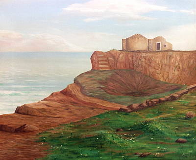 Sicily Painting - Pachino by AnnaJo Vahle