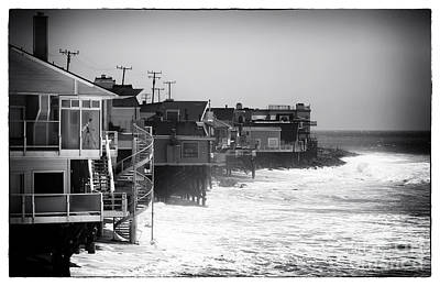 Old School House Photograph - Pacific Coast Living by John Rizzuto
