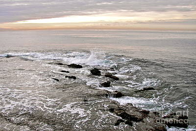 Photograph - Pacific Coast Sunset by Carol  Bradley