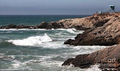 Photograph - Pacific Lifeguard View  by John Rizzuto