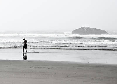 Black And White Photograph - Pacific Livin by Sabrina  Hall