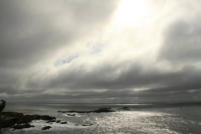 Pacific Ocean At Point Lobos California Art Print by Suzanne Lorenz