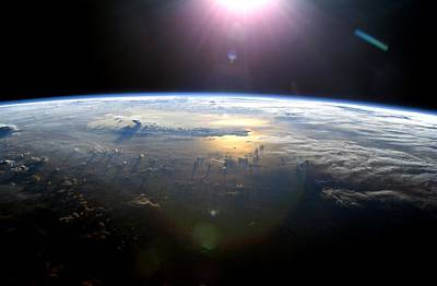 July 21 Photograph - Pacific Ocean From Space, Iss Image by Nasa