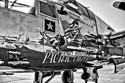 Photograph - Pacific Prowler - Monochromatic by Lynnette Johns