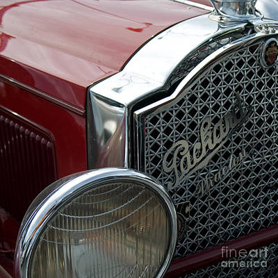 Photograph - Packard by Jorgen Norgaard
