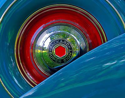 Packard Super Eight Art Print