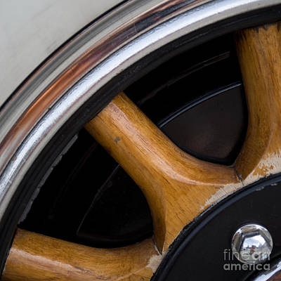 Photograph - Packard Wheel by Jorgen Norgaard