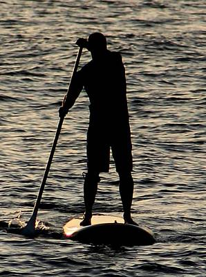 Photograph - Paddle Boarder 2 by Elizabeth  Doran