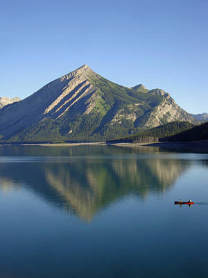 Sunrise Paddle In Peace - Kananaskis, Alberta Original