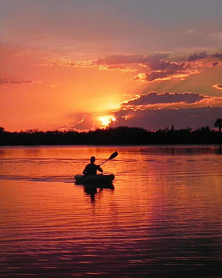 Photograph - Paddle To Home by Francesa Miller