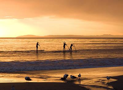 Photograph - Paddleboarding Off Laguna by Cliff Wassmann
