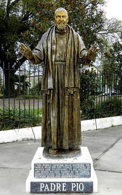 Padre Pio Photograph - Padre Pio by David  Brown